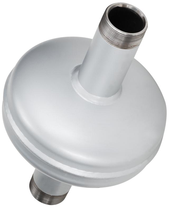 elevator hydraulic pump muffler